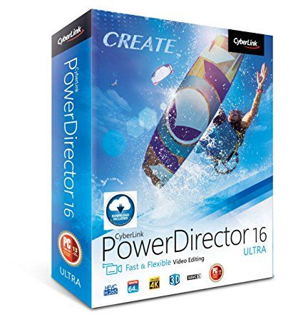 CyberLink PowerDirector 18.0.2725.0 Crack & License Key Full Free Download