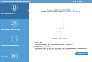 FonePaw iPhone Data Recovery 7.5.0 + Crack [Latest]
